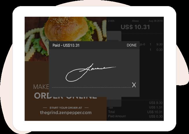 On Screen Signature
